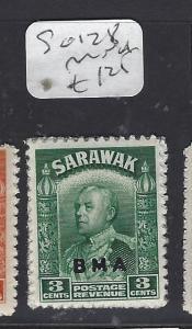 SARAWAK  (P1209B)  BROOKE   3C  BMA  SG 128  MNH