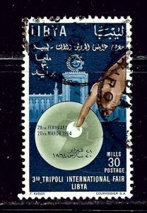 Libya 242 Used 1964 overprint