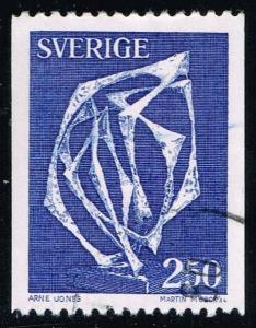Sweden #1233 Space Without Affiliation; Used at Wholesale