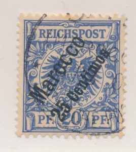 Germany, Offices In Morocco Stamp Scott #4, Used - Free U.S. Shipping, Free W...