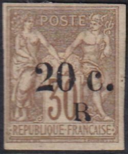 Reunion 1885 SC 10 Used SC Stamp