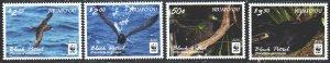 Niuafouou. 2016. 607-10. WWF, birds, fauna. MNH.