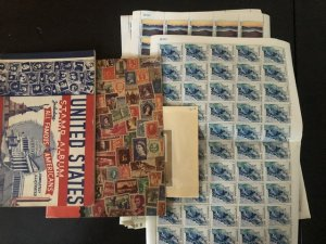 International Stamps Albums 1 Nice US & The Other has Lots Of Full Pages