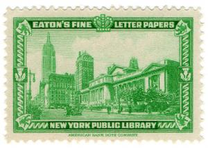 (I.B) US Cinderella : Eaton's Fine Letter Papers (New York Public Library