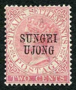 Negri Sembilan SG39 2c pale rose Opt type 24 M/Mint