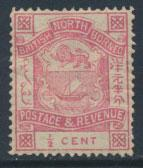 North Borneo  SG 36b Rose  MH  please see scan & details
