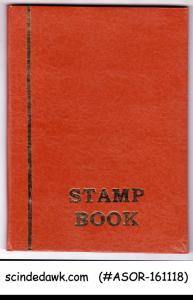 COLLECTION OF HUNGARY USED STAMPS IN SMALL STOCK BOOK - 100V