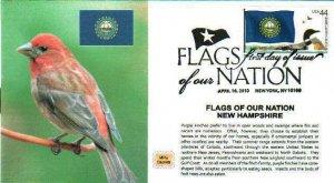 MPG Cachets 4307 New Hampshire Purple Finch