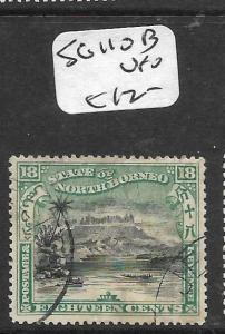 NORTH BORNEO (PP2703B)  18C MOUNTAIN SG 110B  VFU