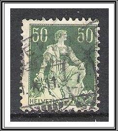 Switzerland #139 Helvetia Used