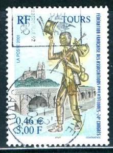 France, 2001: Sc. # 2826; O/Used Cpl. Set
