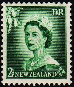 New Zealand. 1953 2d S.G.726 Mounted Mint