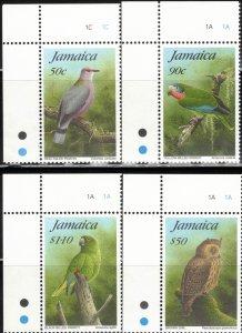 Jamaica #827-830, Set of 4, MNH