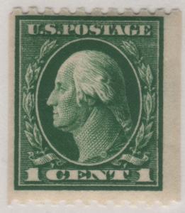 Scott 441 1914 1c Washington