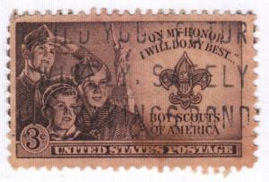 United States, Scott # 995 (6),  Used