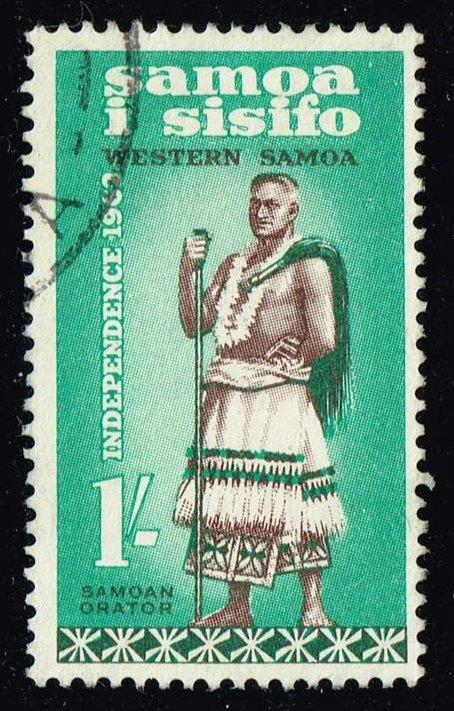 Samoa #229 Talking Chief; Used (0.85)