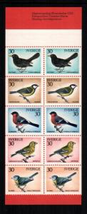 Sweden  877a booklet   MNH cat $ 8.50 aaa