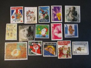 Gibraltar Assortment Used #9- (5D4) WDWPhilatelic