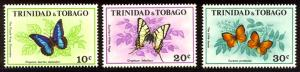 HALF-CAT BRITISH SALE: TRIN & TOBAGO #210-15 Mint NH