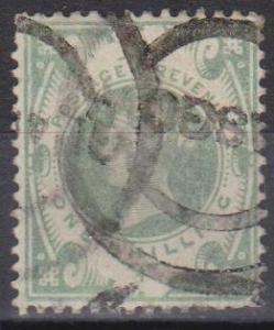 Great Britain #122 F-VF Used CV $60.00 (B792)