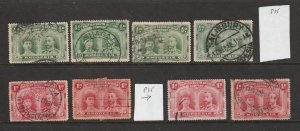 Rhodesia a small lot of low value KGV double heads used see description