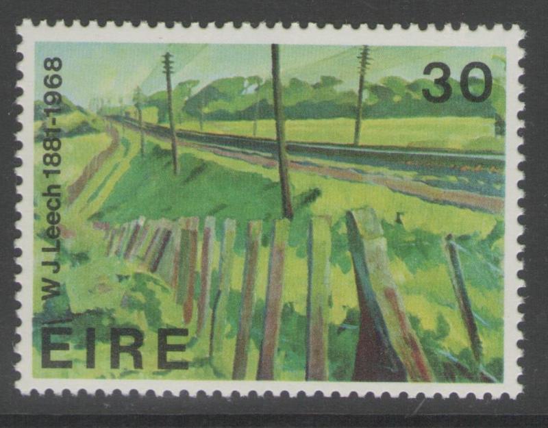 IRELAND SG498 1981 CONTEMPORARY ART MNH