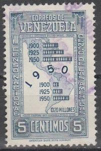 Venezuela #438  F-VF Used (S2842)