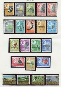 SWAZILAND SELECTION OF MINT NEVER HINGED STAMPS DELIVERD OFF THE ALBUM PAGES