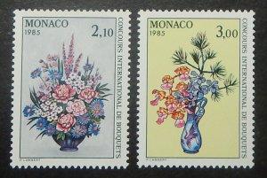 Monaco 1440-41. 1984 International Flower Show, NH