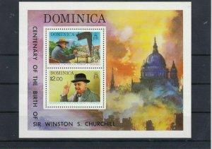 Sir Winston Churchill MNH Stamps Sheet 1865 Ref: R8014