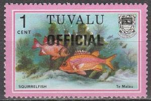 Tuvalu #O1   MNH   (S6506)