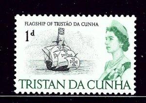 Tristan da Cunha 72 MNH 1965 issue