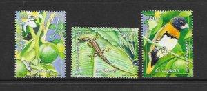 BIRDS - FRENCH POLYNESIA #1096-8  MNH