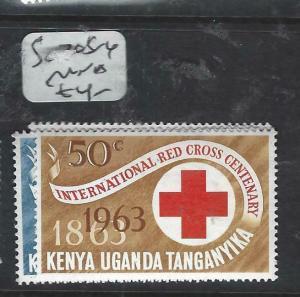 KENYA, UGANDA, TANGANYIKA   (PP0106B)  RED CROSS   SG 205-6   MNH
