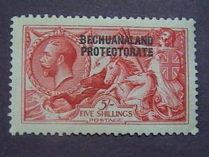 BECHUANALAND  # 93-MINT/HINGED---ROSE-CARMINE---GEOV----1914