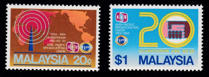 Malaysia  1984  Asia-Pacific Broadcasting  VF/NH(**)