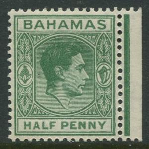STAMP STATION PERTH Bahamas #100 KVI Definitive 1938 MLH CV$1.00