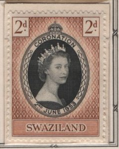 SWAZILAND, 54, MNH, 1953, Coronation Issue