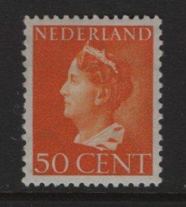 NETHERLANDS    225a  MINT HINGED QUEEN WILHELMINA