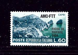 Italy-Trieste 193 MH 1954 overprint
