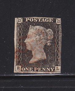 Great Britain 1 U Queen Victoria (A)