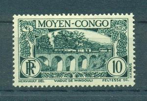 Middle Congo sc# 69 mh cat value $.80