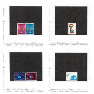 Lot of 58 U.N. United Nations Geneva MNH Stamps Scott Range # 87-153 #149738 X R