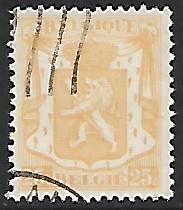 Belgium # 271 - State Seal - 25ct - used [BRN10]