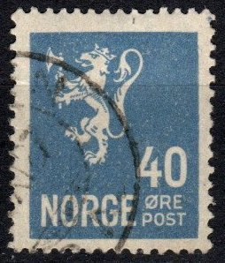 Norway  #125 F-VF Used (S11144)