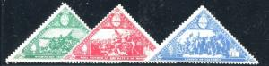 US - Vintage International Triangle Educational Seals Mint Never Hinged (flp)