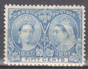 Canada #60 Mint XF OG LH C$500.00 -- Jubilee --
