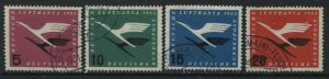 Germany Airmail set of 4  mint o.g. hinged