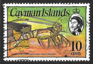 [7059] Cayman Islands # 338 Used