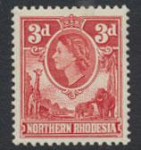 Northern Rhodesia  SG 65  SC# 65 MLH  see detail and scan